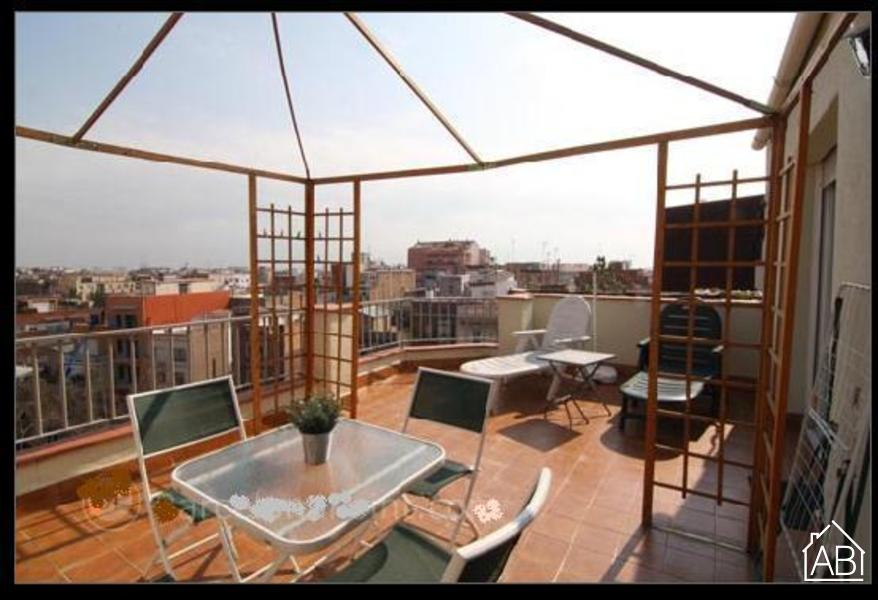 AB Romantic Barcelona Apartment - Sunny penthouse in Barcelona with a large terrace - AB Apartment Barcelona