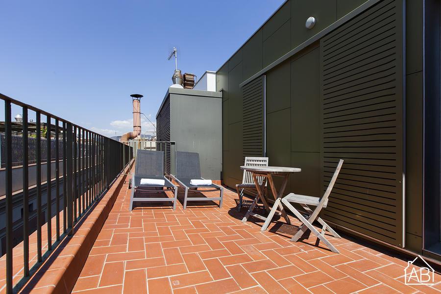 AB Nou de Sant Francesc A - Modern gotische kwart appartement met privé terras - AB Apartment Barcelona