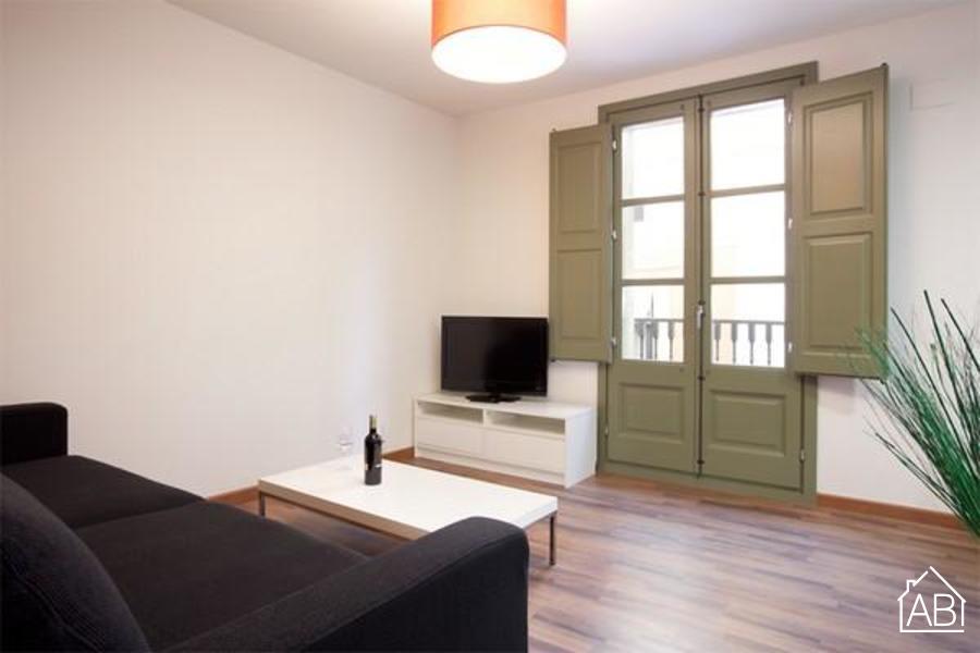AB Nou de Sant Francesc 2-2 - Apartamento moderno con balcón en el Barrio Gótico - AB Apartment Barcelona