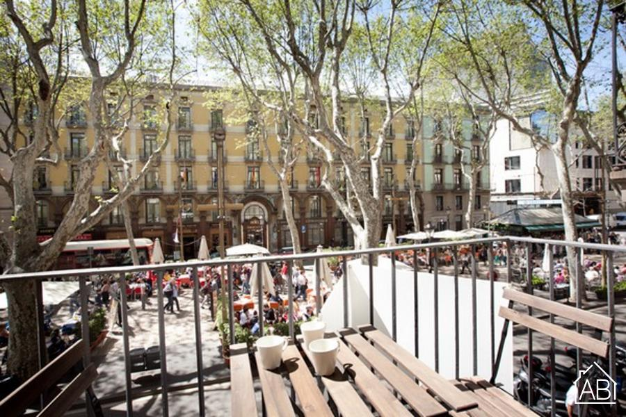 AB 50 Las Ramblas - Cozy three-bedroom apartment on Las Ramblas - AB Apartment Barcelona