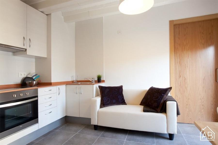 AB Guitert Beach 5 -  شقة مشرقة غرفة نوم واحدة على الشاطئ في برشلونةAB Apartment Barcelona -