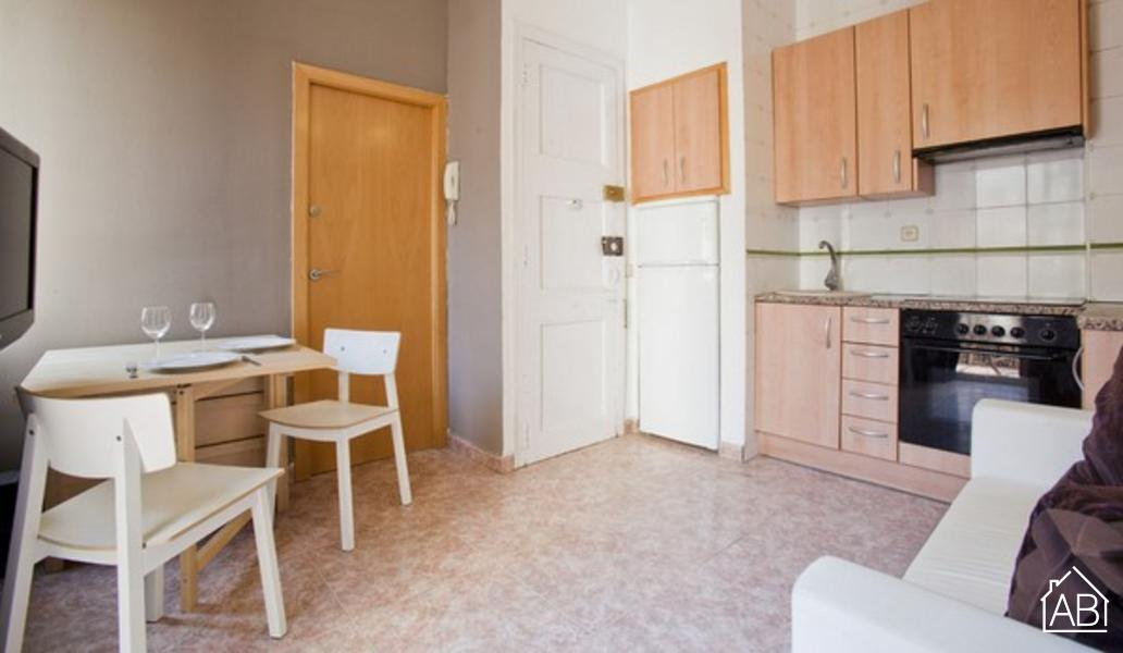 AB Guitert Beach 3 - Barceloneta区私密公寓,两人居住 - AB Apartment Barcelona