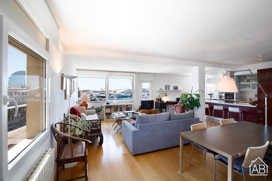 Marina Port Vell - Spacious two bedroom apartment in Port Vell, Barcelona - AB Apartment Barcelona