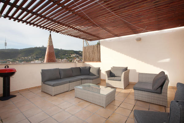 AB Penthouse Park Güell - Spacious and Modern Penthouse near Park Güell with Two Private Terraces - AB Apartment Barcelona