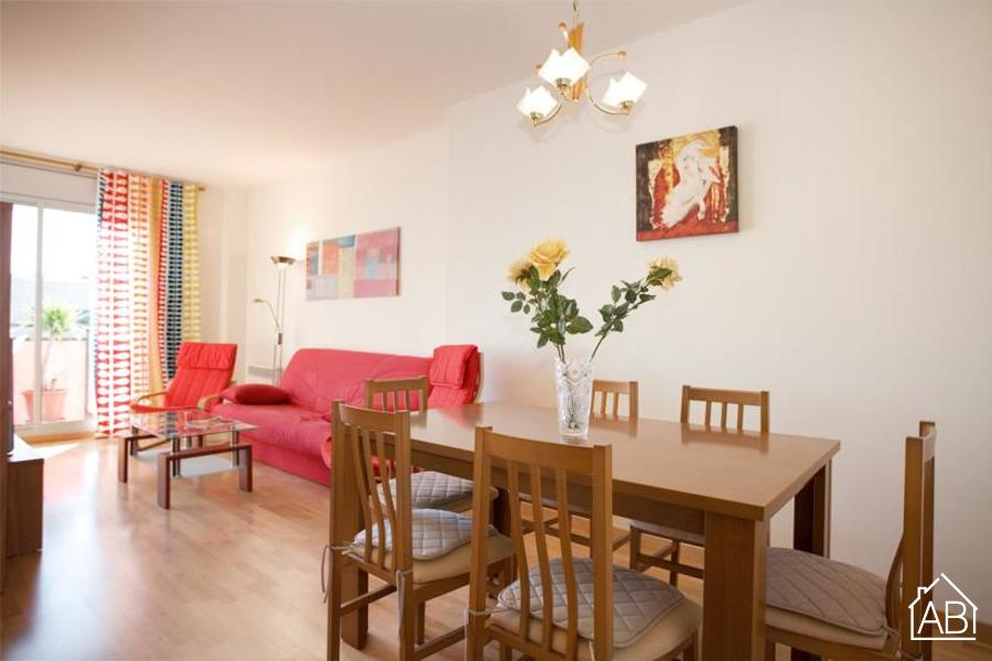 AB Diagonal Mar Park III - Poble Nou三间卧室的宽敞公寓,带两个公共泳池 - AB Apartment Barcelona