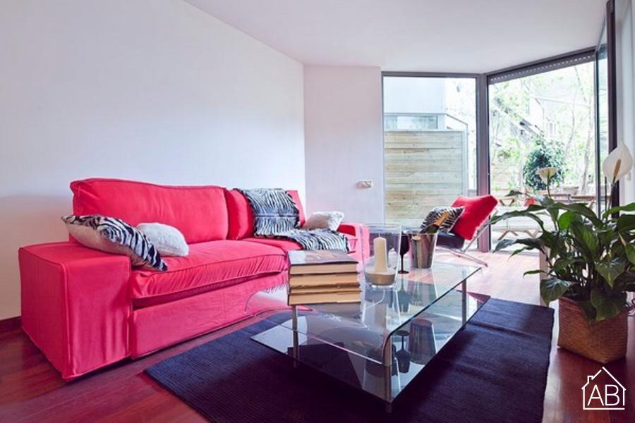 AB Putxet Sunny B28 II Apartment - Апартаменты в Барселоне для 6ми человек с бассейном  - AB Apartment Barcelona