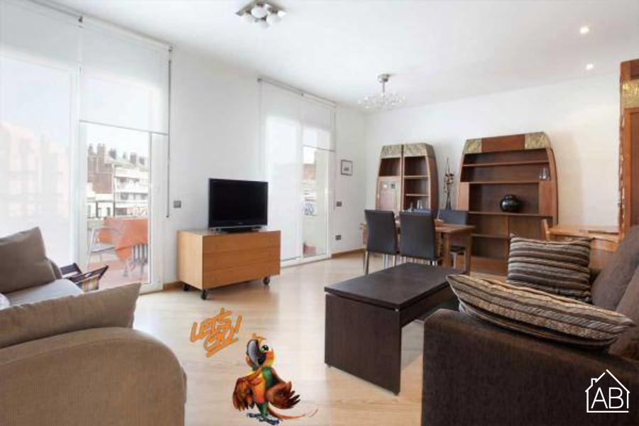 AB Mallorca Clinic Eixample - Nice 2-bedroom Apartment with a Balcony in Eixample - AB Apartment Barcelona