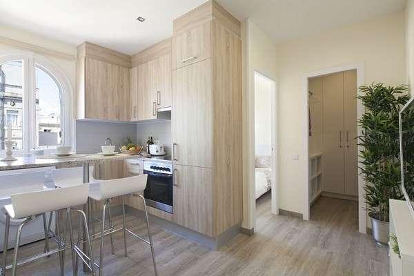 AB Barceloneta Beach Sevilla Street - Moderno Apartamento de 2 dormitorios con balcón cerca de la playa - AB Apartment Barcelona