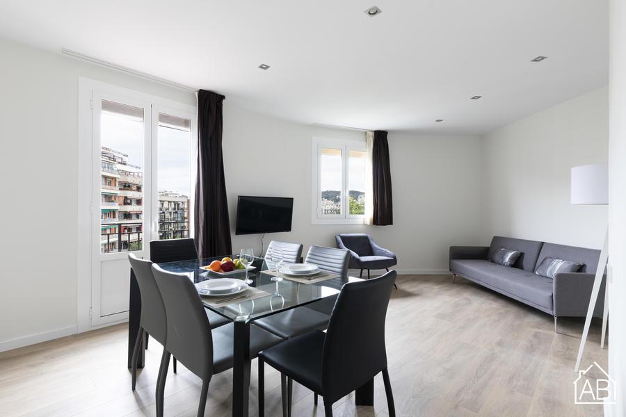 AB Plaça Espanya 2-2 - Trendiges 3-Zimmer Apartment in Eixample unweit vom Plaça d´Espanya - AB Apartment Barcelona