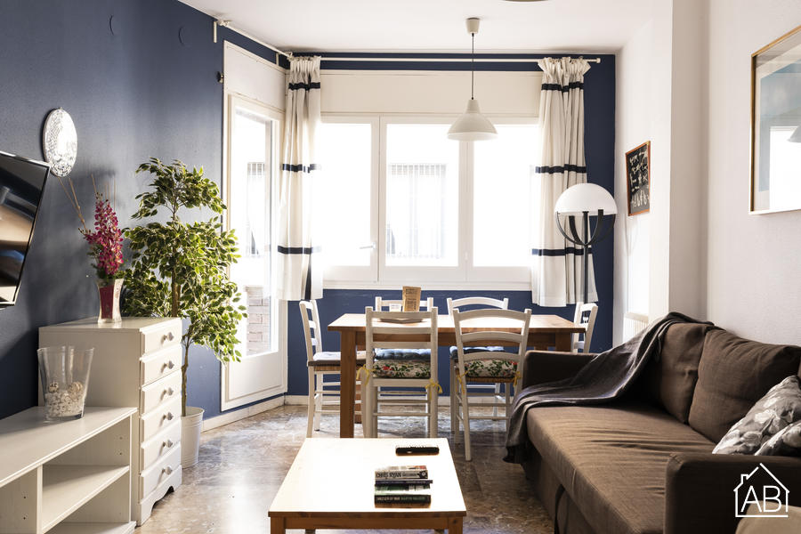 AB Sagrada Família Ptge Bocabella - Spacious 3-Bedroom Eixample Apartment with a Balcony near the Sagrada Família - AB Apartment Barcelona