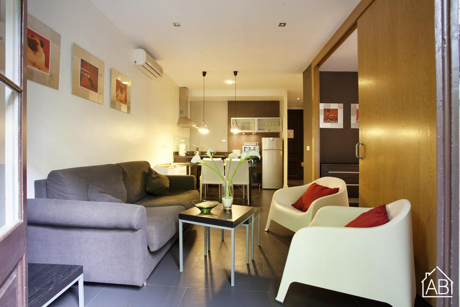 AB PL Espanya - Rocafort 1 - Beautiful two bedroom apartment - AB Apartment Barcelona