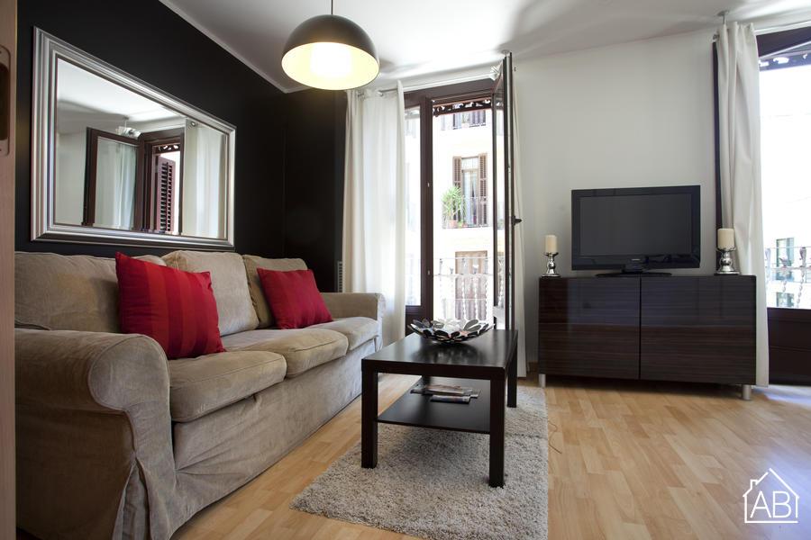 AB Poble Sec - Tapioles 1 - Очаровательная квартира с двумя спальнями и балконом - AB Apartment Barcelona