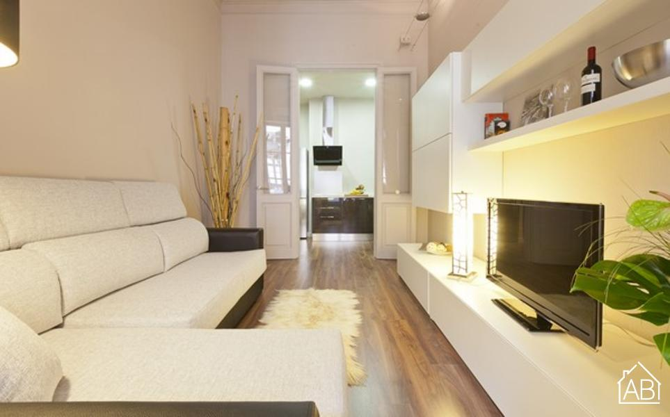 AB Catalunya Square Private Terrace - 带私人露台的一室现代公寓 - AB Apartment Barcelona