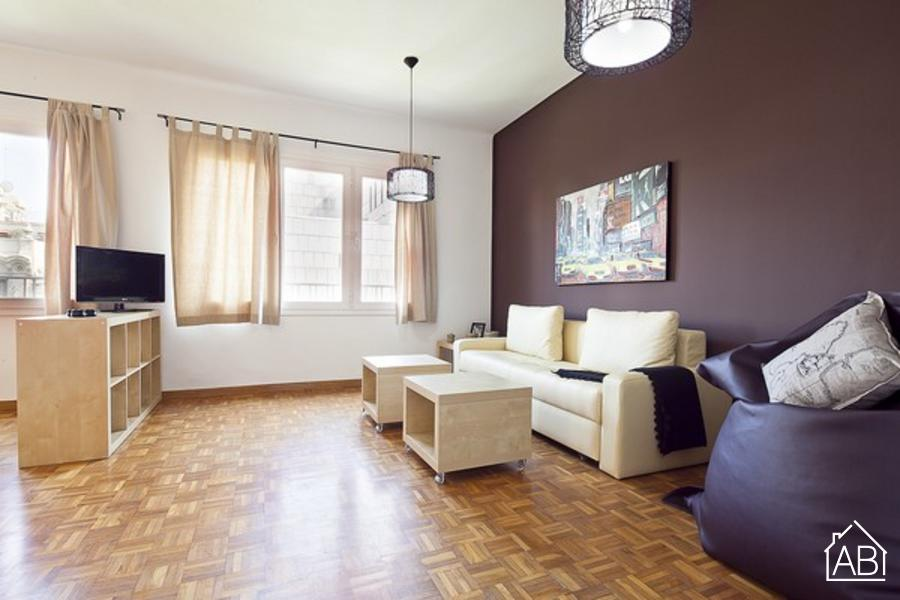 AB Ronda Sant Pere - Catalunya - Mooi één slaapkamer appartement in het centrum te koop - AB Apartment Barcelona