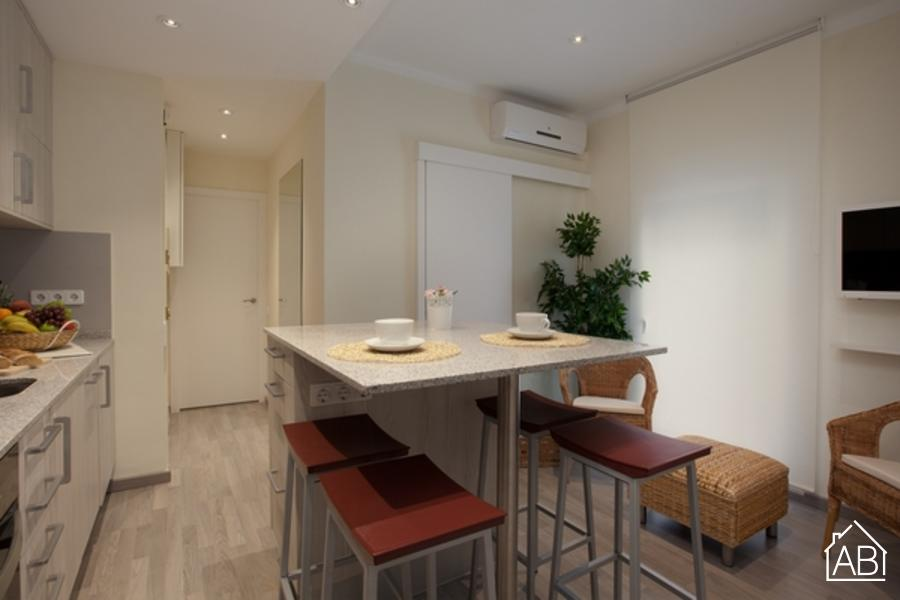 AB Barceloneta - Marina II - Stylish apartment on the beach - AB Apartment Barcelona