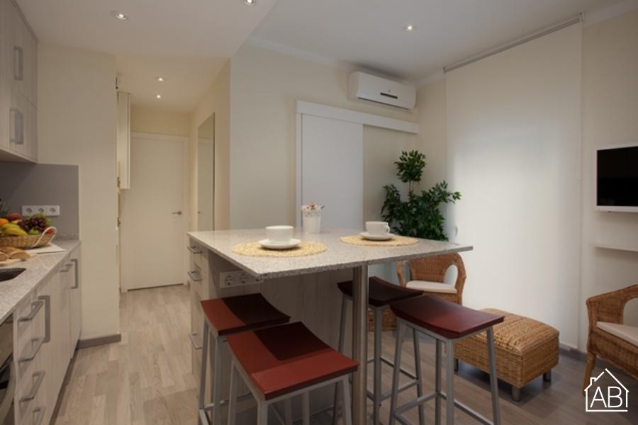 AB Barceloneta - Marina II - Стильные апартаменты для четырех человек около пляжа - AB Apartment Barcelona