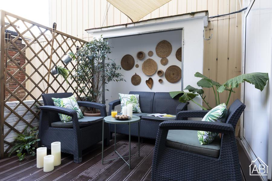 Rossello Center Terrace - Stylish 2 bedroom apartment close to the Sagrada Familia - AB Apartment Barcelona