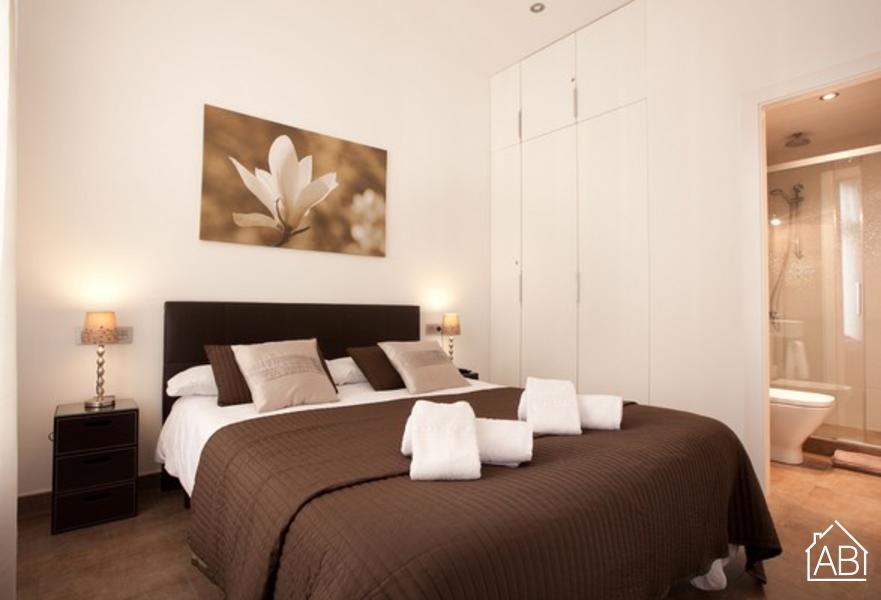 AB Passeig de Grácia Rosselló 2-1 - Geweldig appartement met 2 slaapkamers en een balkon in de buurt van de Passeig de Gràcia - AB Apartment Barcelona
