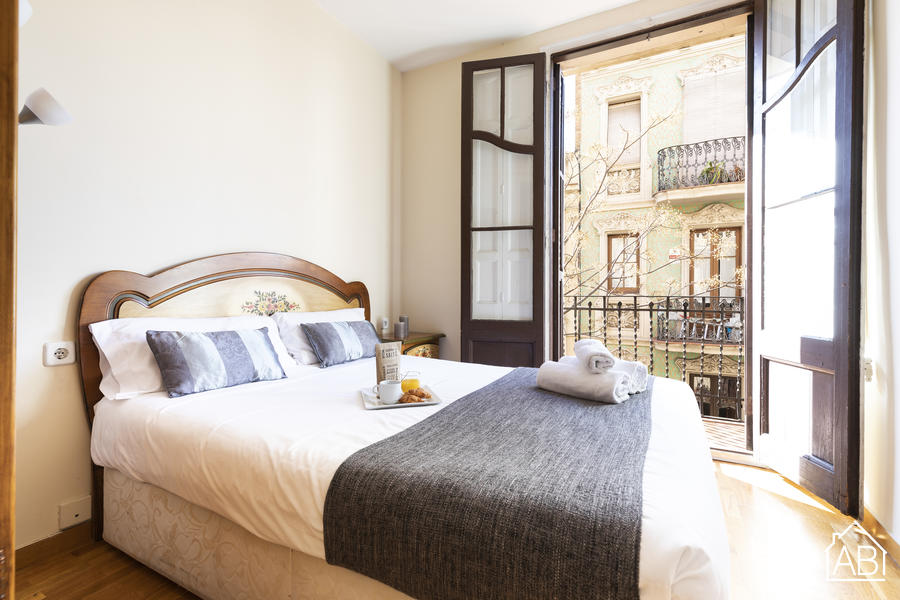 AB Sagrada Família Passatge Font - Cosy 1-Bedroom Apartment with a Balcony, Steps from the Sagrada Família - AB Apartment Barcelona