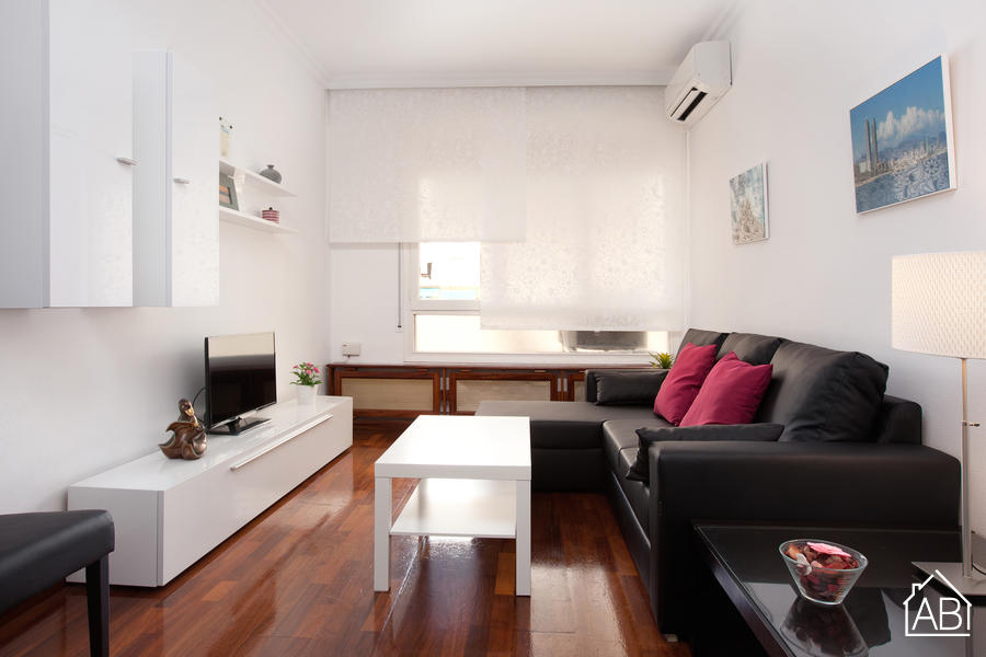 AB Diagonal Apartment - Central 3-Bedroom Eixample Apartment just 5 Minutes from Avinguda Diagonal - AB Apartment Barcelona