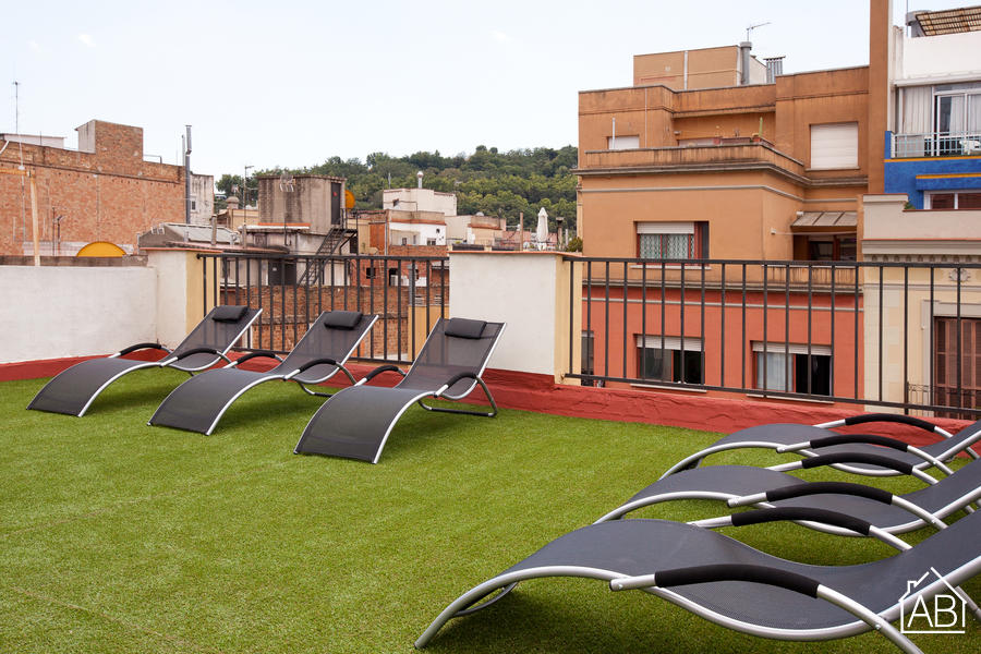 AB Vila i Vilá Apartment 1-2 - شقة مبهجة مع تراس على السطح بالقرب من شارع لاس رامبلاسAB Apartment Barcelona -