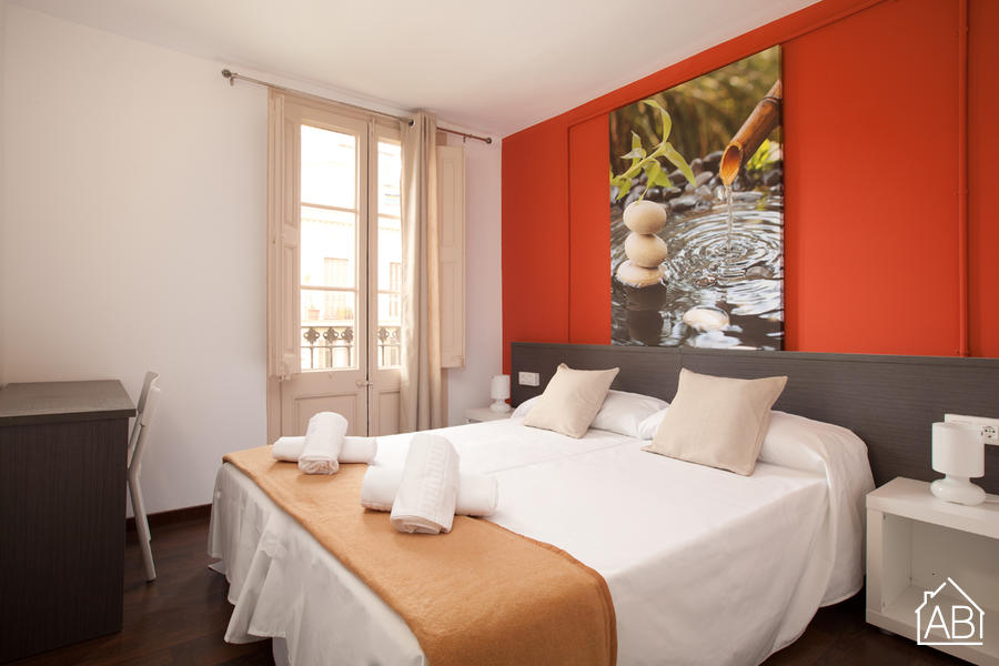 AB Vila i Vilá Apartment 4-1 - Lovely Apartment with a Communal Roof Terrace near Las Ramblas - AB Apartment Barcelona