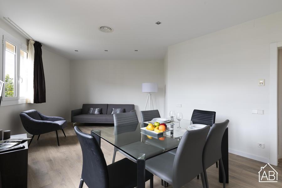 AB Plaça Espanya 4-1 - Apartamento contemporáneo de 3 dormitorios en Eixample cerca de Plaça d´Espanya - AB Apartment Barcelona