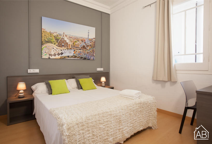 AB Marina Apartment 1-2 - Delightful 3-Bedroom Apartment with a Communal Terrace near the Sagrada Família - AB Apartment Barcelona