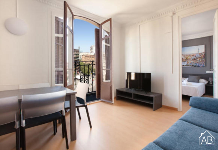 AB Marina Apartment 4-1 - Trendy 3-Bedroom Apartment with a Communal Terrace near the Sagrada Família - AB Apartment Barcelona