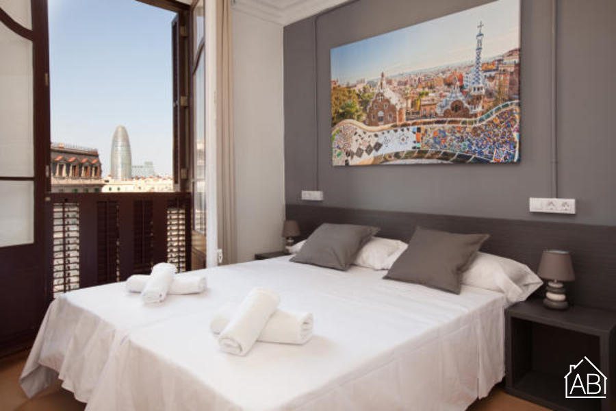 AB Marina Apartment 4-4 - Wonderful 3-Bedroom Apartment near the Sagrada Família - AB Apartment Barcelona
