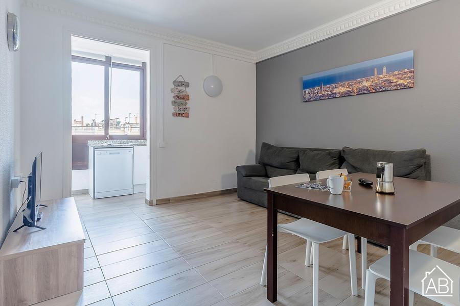 AB Marina Apartment - Wonderful 3 bedroom apartment with roof terrace access near the Sagrada Familia - AB Apartment Barcelona