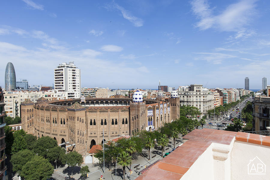 AB Marina Apartment 5-4 - Bright 3-Bedroom Apartment with a Communal Terrace near the Sagrada Família - AB Apartment Barcelona