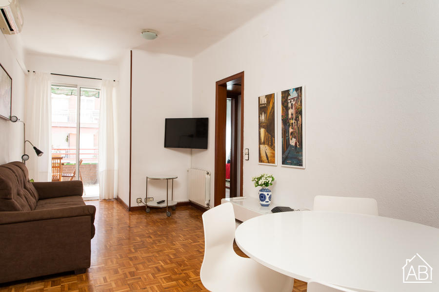 AB Mallorca Sibelius Apartment - Bright 3 bedroom apartment in Sant Martí - AB Apartment Barcelona