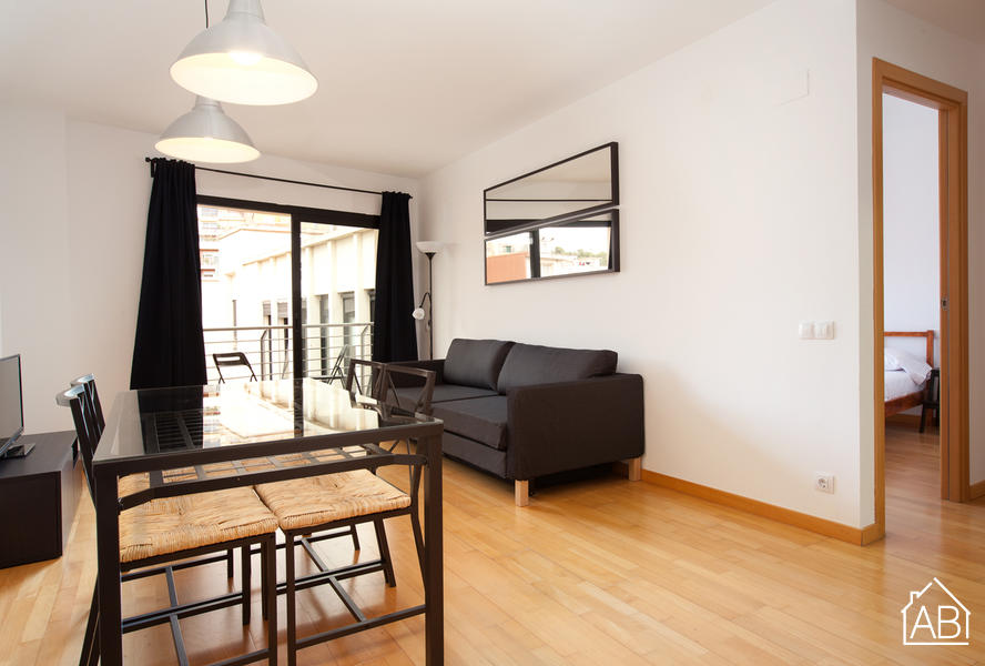 Park Guell Modern - Стильные апартаменты с двумя спальнями около Парка Гуэль - AB Apartment Barcelona