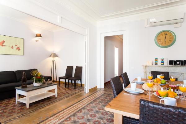 AB Vintage - Passeig de Gracia - Schönes 5-Zimmer Apartment, nur wenige Schritte zum Passeig de Gràcia - AB Apartment Barcelona