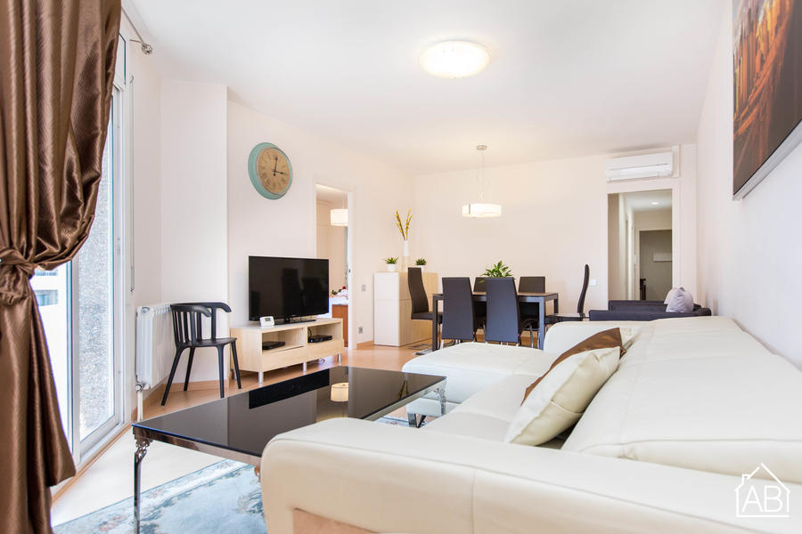 AB Golden Central Muntaner - 市中心的三居室双卫公寓 - AB Apartment Barcelona
