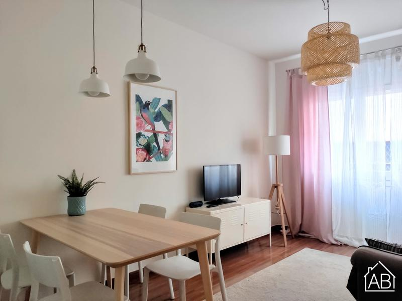 AB Hungria Apartment - Квартира с тремя спальнями около стадиона Камп Ноу - AB Apartment Barcelona