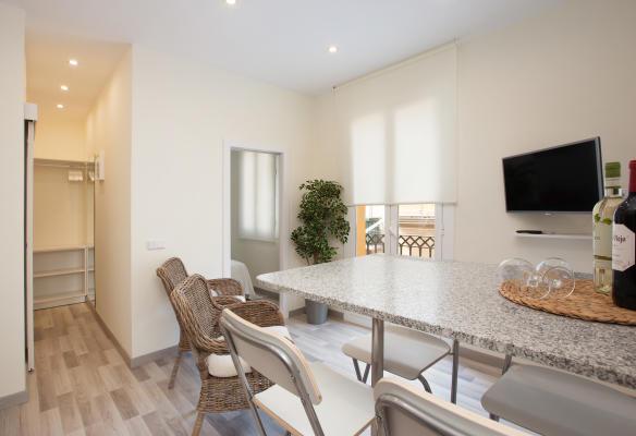 AB Barceloneta - Sant Miquel I - شقة شاطئية في برشلونة ل 4 أشخاص تم تجديدها حديثاًAB Apartment Barcelona -
