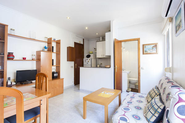 AB Beach Saint Michael II - Psg. Joan de Borbó周边单卧室沙滩公寓 - AB Apartment Barcelona