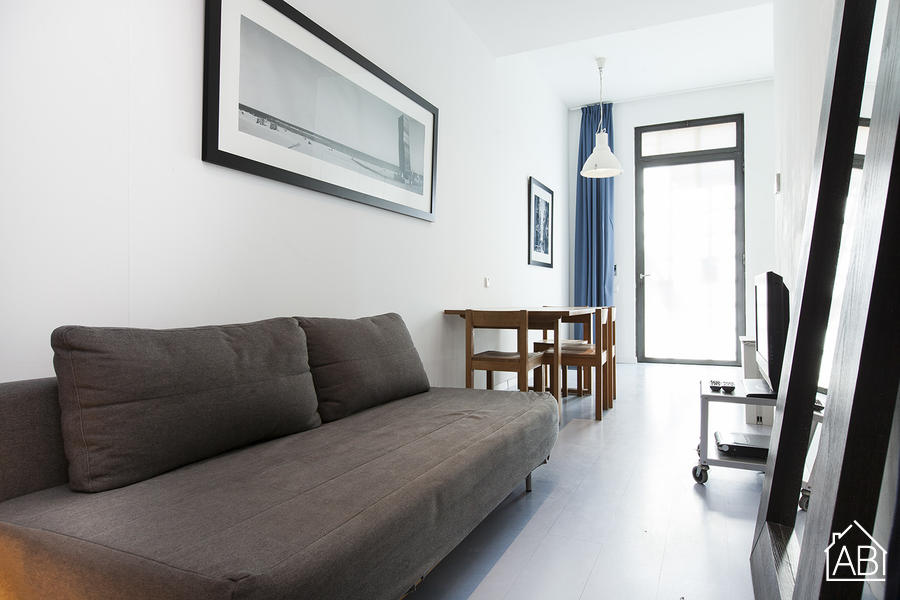AB Andrea Doria Beach B-1 - Lovely Barceloneta Beach Apartment with a Communal Terrace - AB Apartment Barcelona