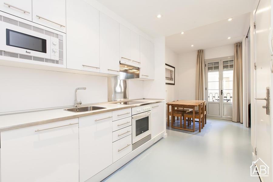 AB Andrea Doria Beach 1-1 - Appartement Moderne avec Terrasse Commune à la Plage de la Barceloneta - AB Apartment Barcelona