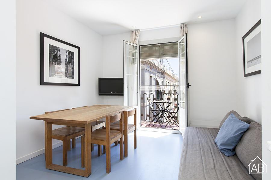 AB Andrea Doria Beach - Stupendo Appartamento con Terrazzo Condominiale sulla Spiaggia di Barceloneta - AB Apartment Barcelona