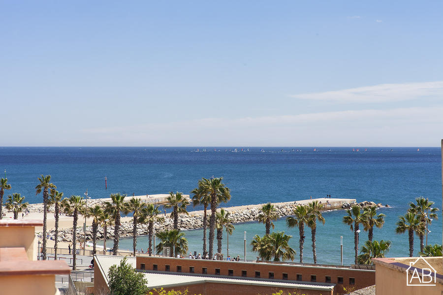 AB Andrea Doria Beach Attic - Милые Апартаменты  Barceloneta Beach с отдельной террасой - AB Apartment Barcelona