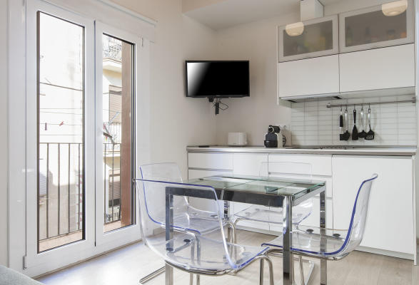 AB Barceloneta Grau I Torras 2 - Modern, two bedroom apartment for rent, right by the beach - AB Apartment Barcelona