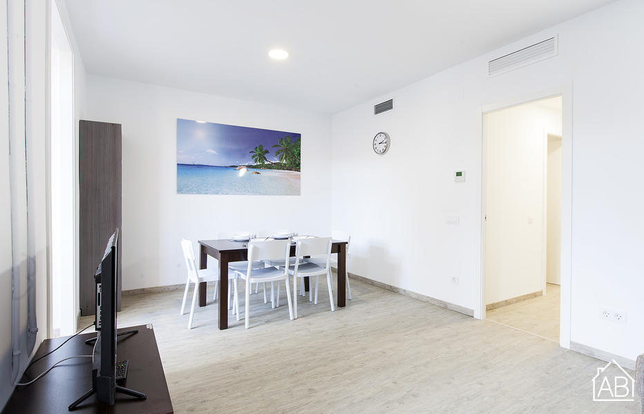 AB Nou de la Rambla - Modern 5 bedroom apartment in Barcelona for rent - AB Apartment Barcelona