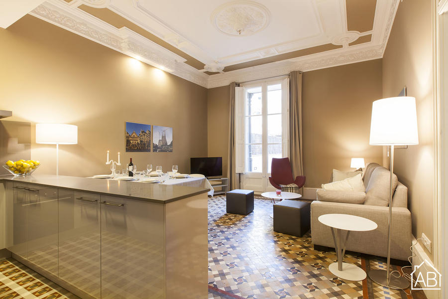 AB Psg Sant Joan 1-2 - Beautiful 3-bedroom Apartment in the City Centre with a Private Terrace - AB Apartment Barcelona
