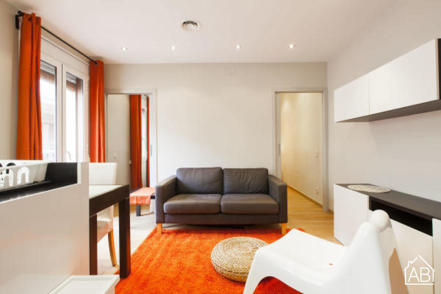 AB Barceloneta Beach - Meer 1 - Modern, two bedroom beach apartment for rent - AB Apartment Barcelona