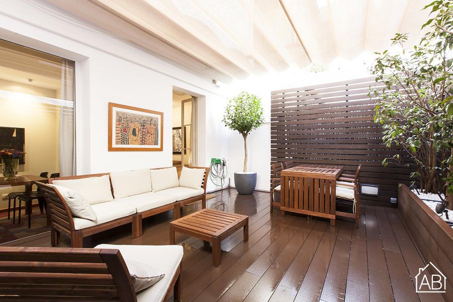 AB Private Terrace Apartment - 扩展区华丽露天阳台公寓 - AB Apartment Barcelona