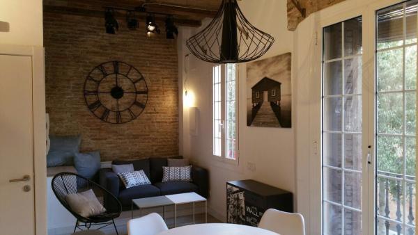 AB Barceloneta - Salamanca IV - Rustic one bedroom apartment for rent in Barceloneta - AB Apartment Barcelona