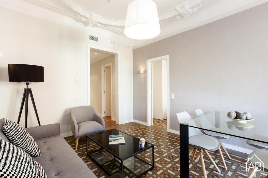 AB Casa Farreras 3-2-A - Prachtig appartement met Eixample met 2 slaapkamers en een balkon - AB Apartment Barcelona
